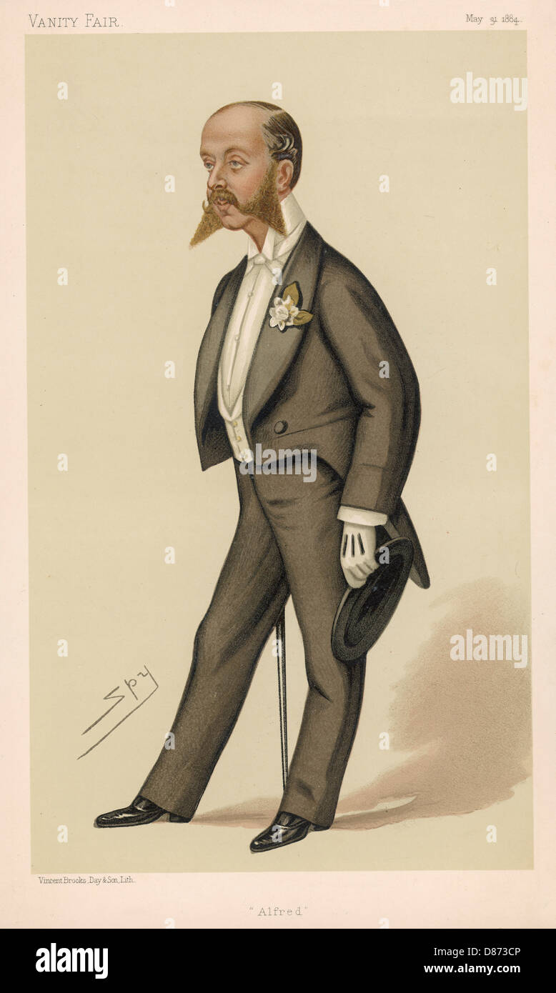 Alfred Rothschild - Stock Image