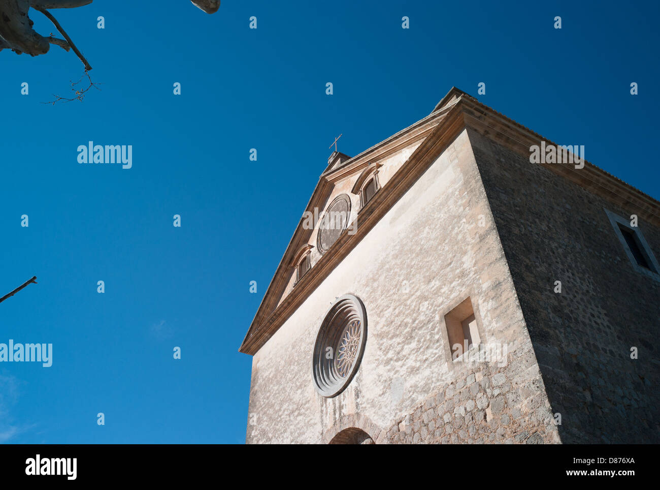Balearic Islands Valdemossa Kartause Monastery Real Cartuja, Spain - Stock Image