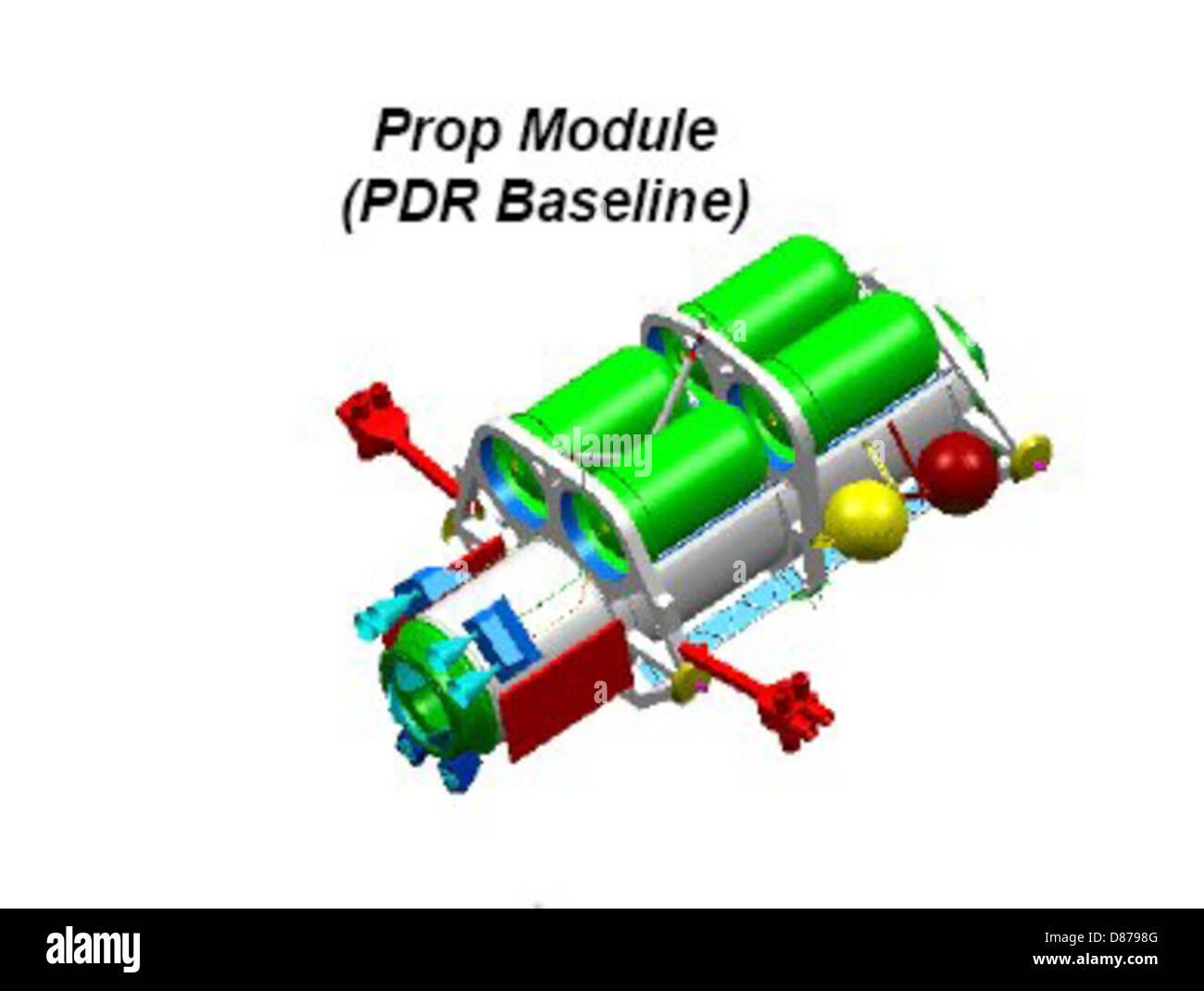 ISS Propulsion module.jpg Stock Photo