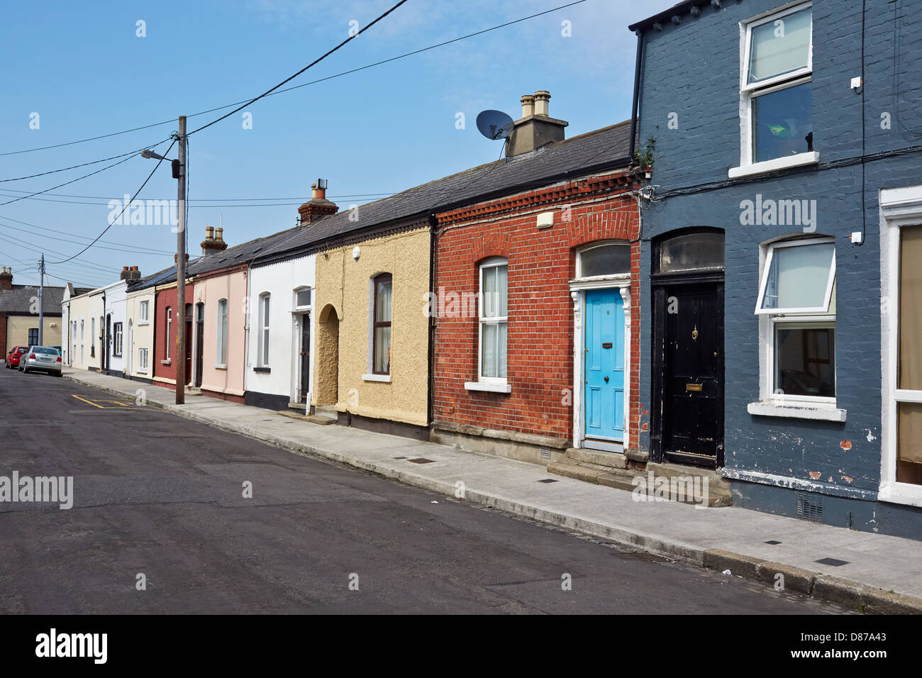 traditional cottage houses in the inner city area of north strand