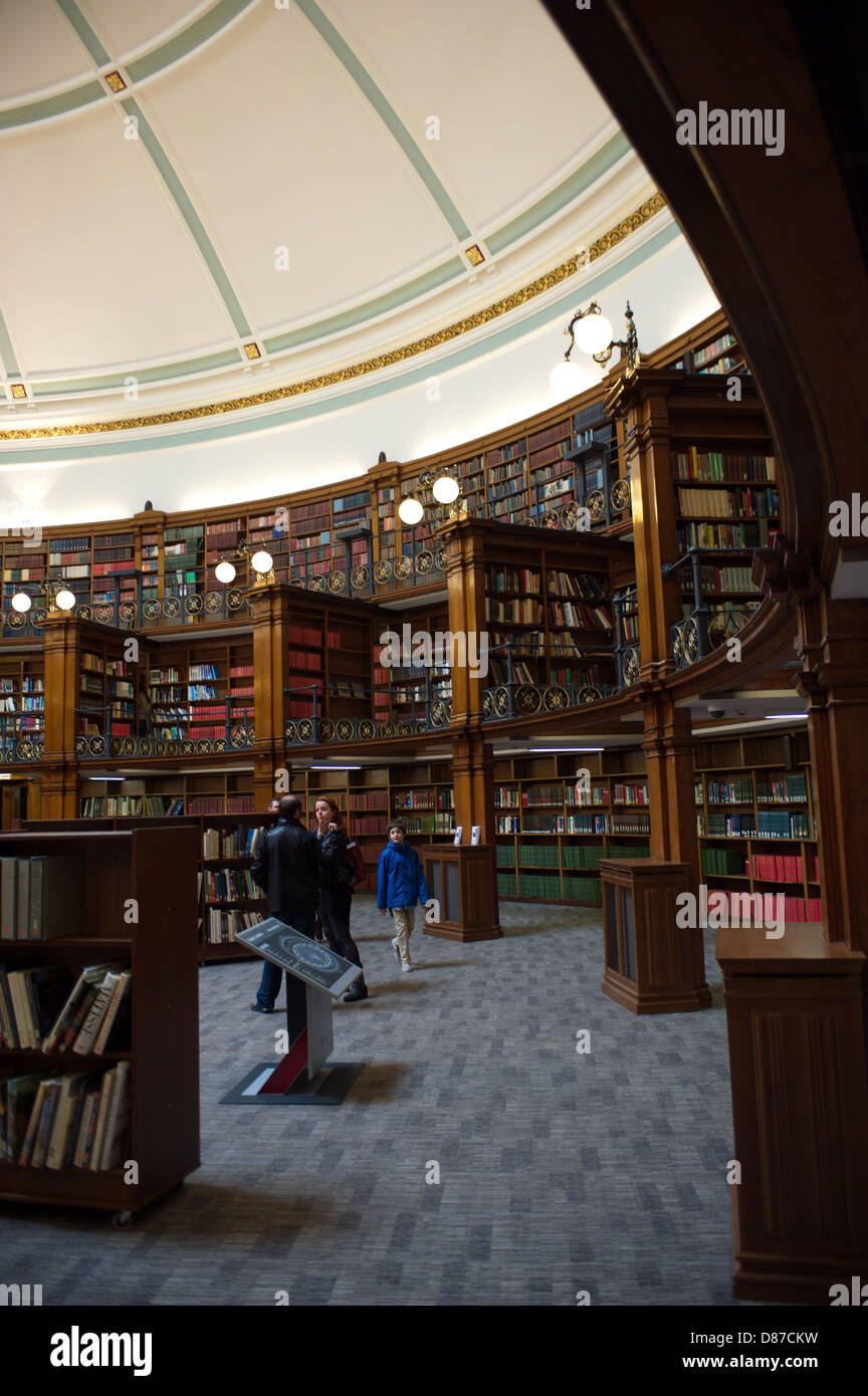 Picton Reading Room The new Central Library opened in Liverpool city centre. Stock Photo