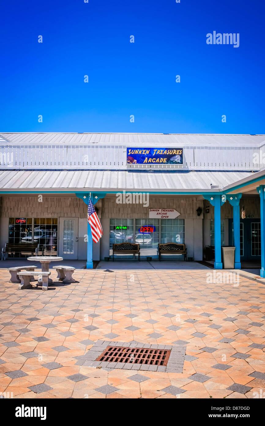 Strip Mall in Bradenton Florida - Stock Image