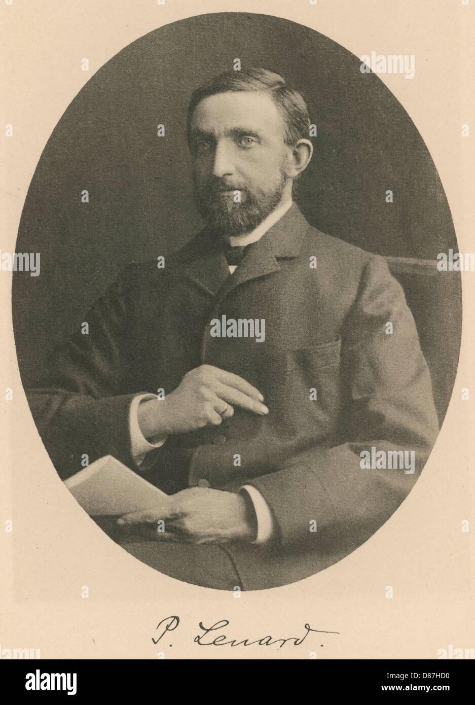 Philipp Lenard Nobel 05 - Stock Image