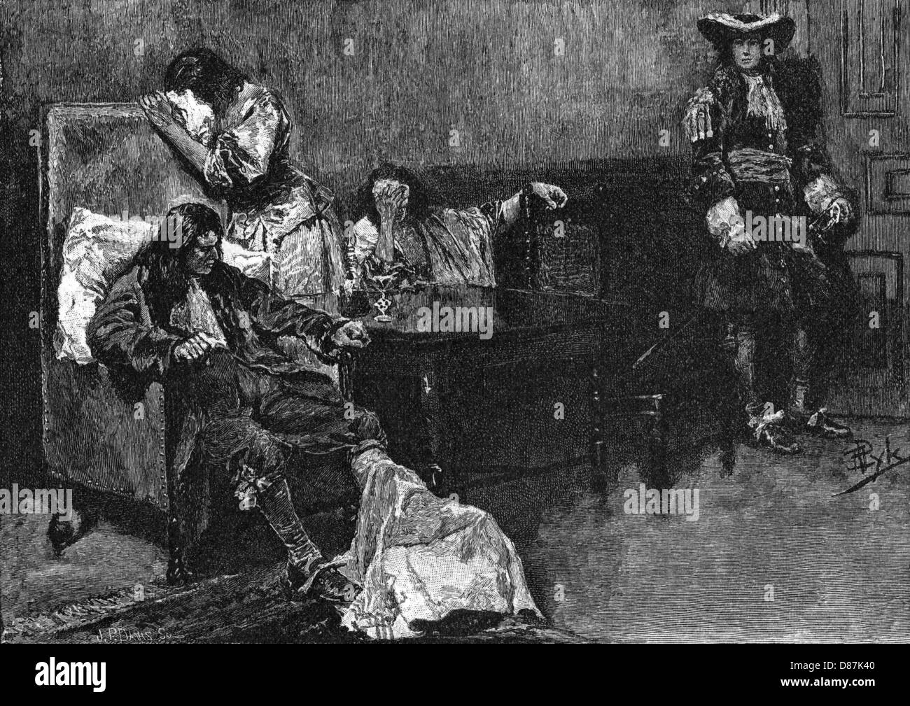 William Penn Pyle 1882 - Stock Image