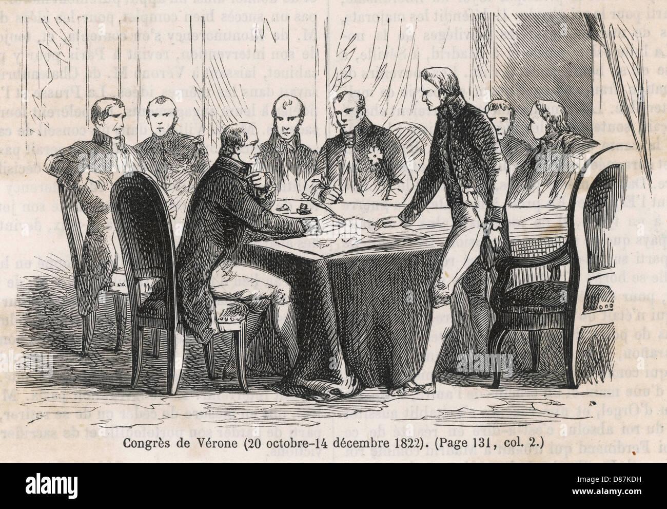 Congress Of Verona 1822