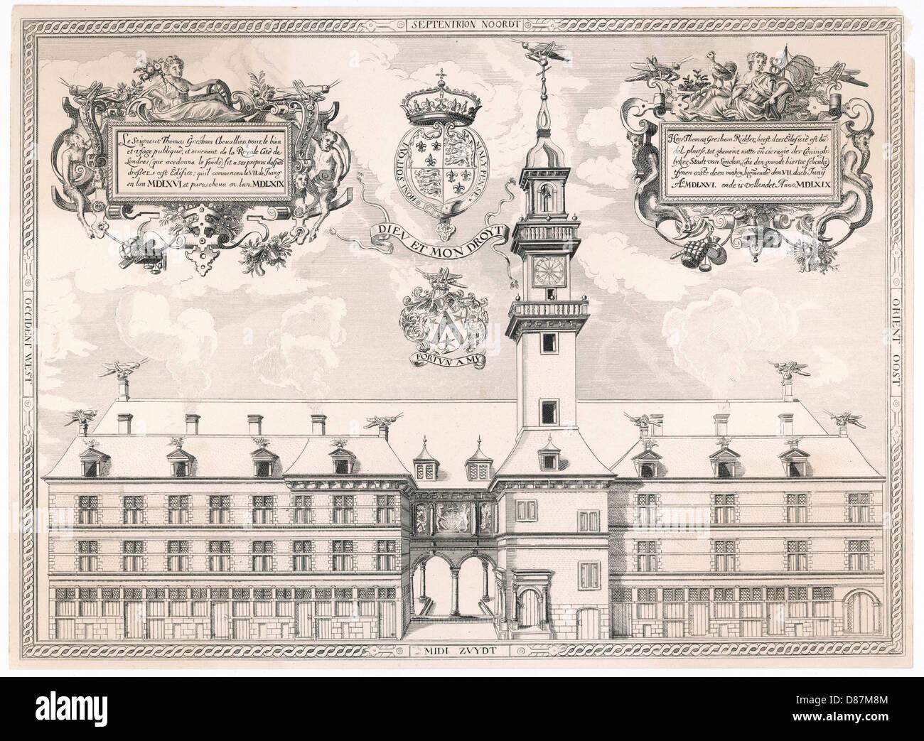 Royal Exchange Original - Stock Image