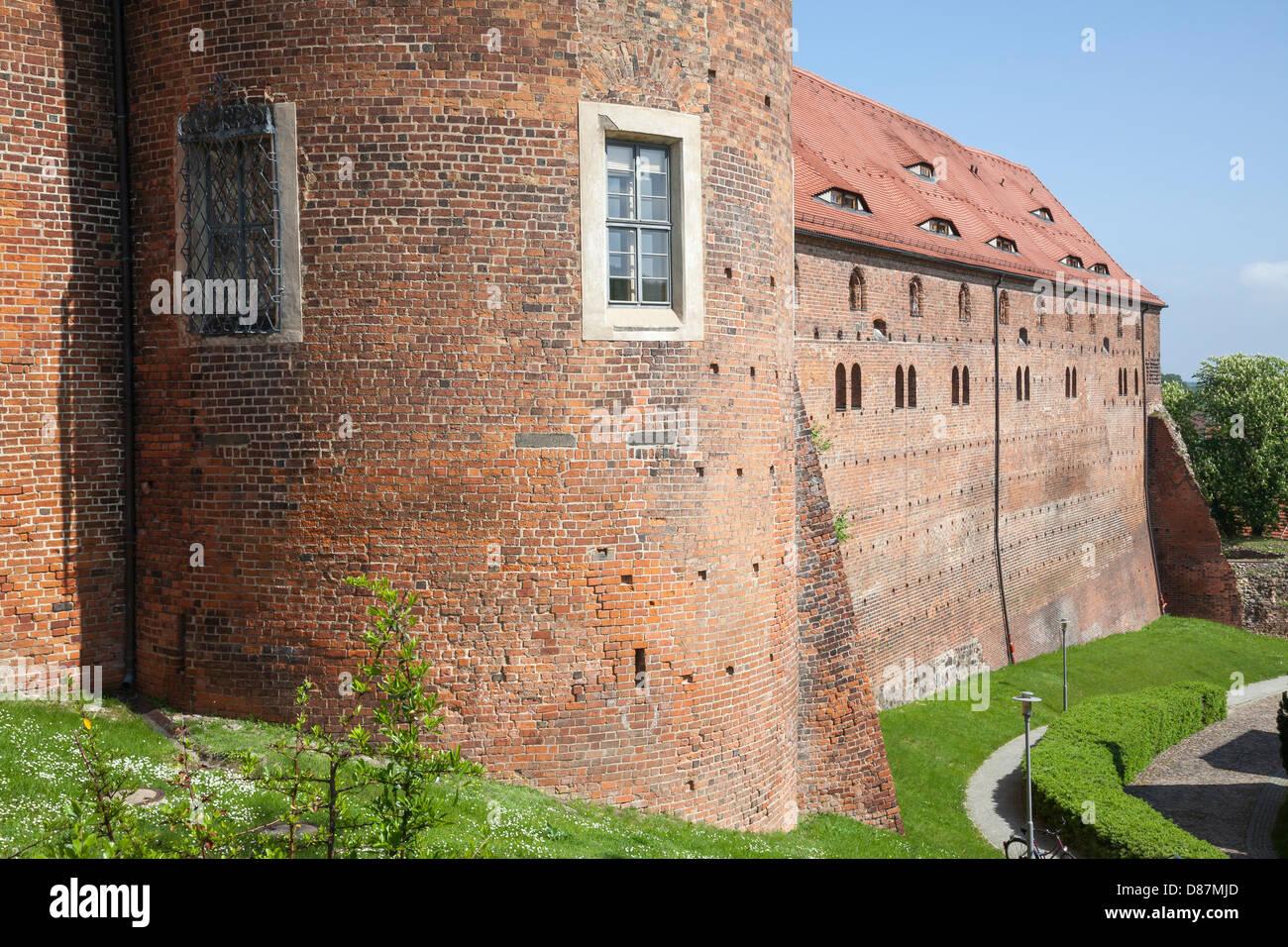 BurgEisenhardt, Bad Belzig, Hoher Fläming, Brandenburg, Germany - Stock Image