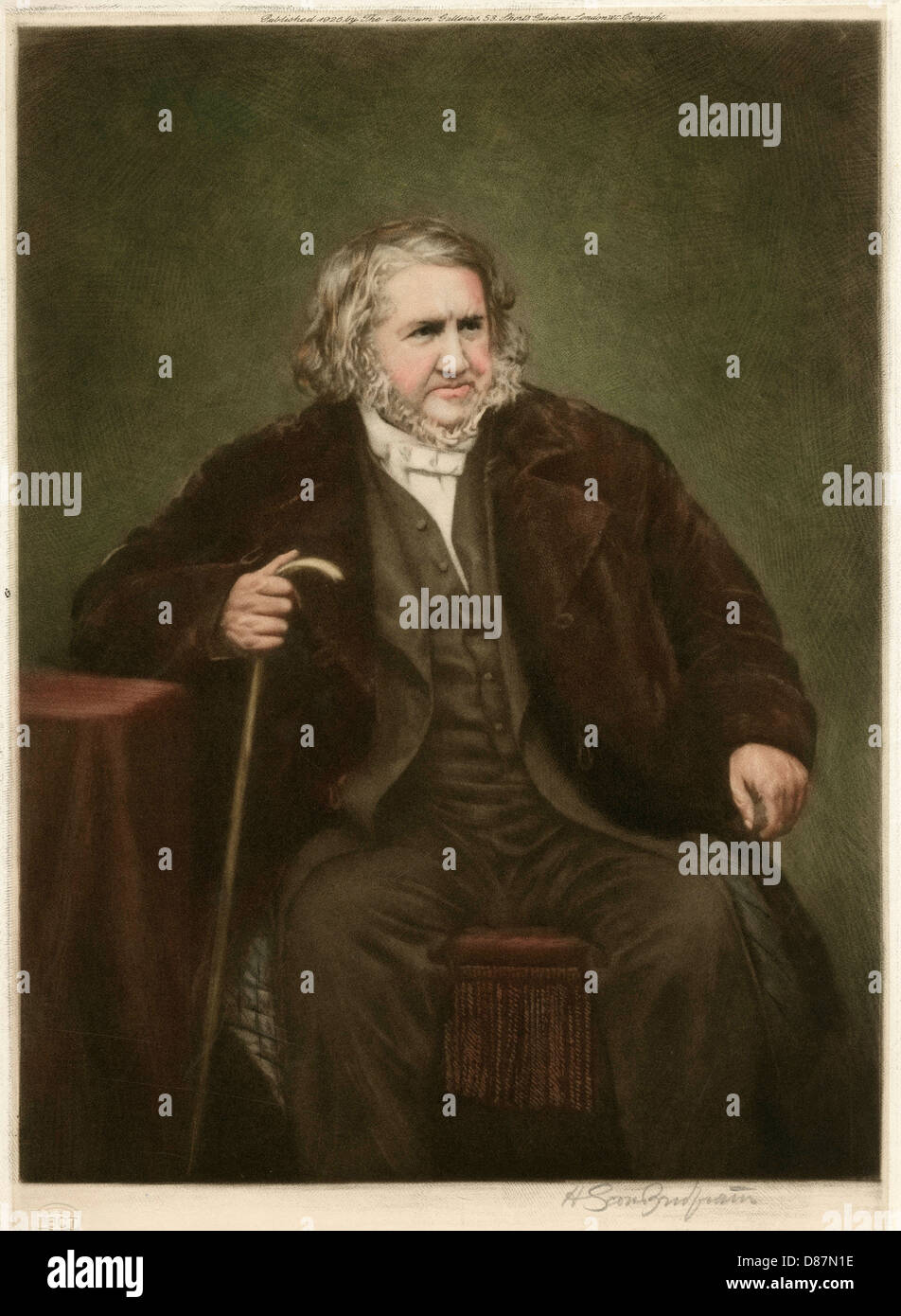 James Young Simpson - Stock Image