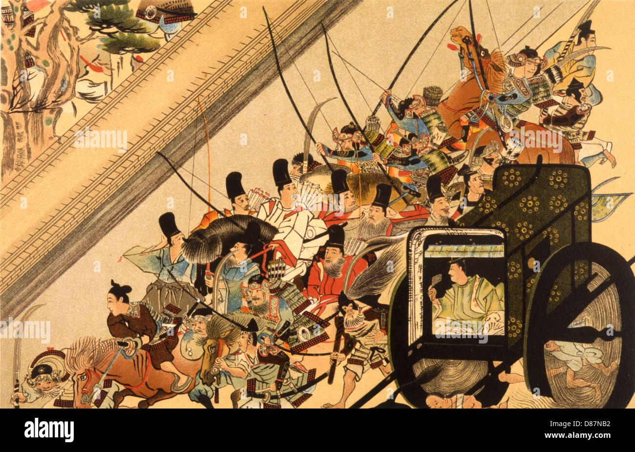 Shirakawa Abducted 1159 - Stock Image