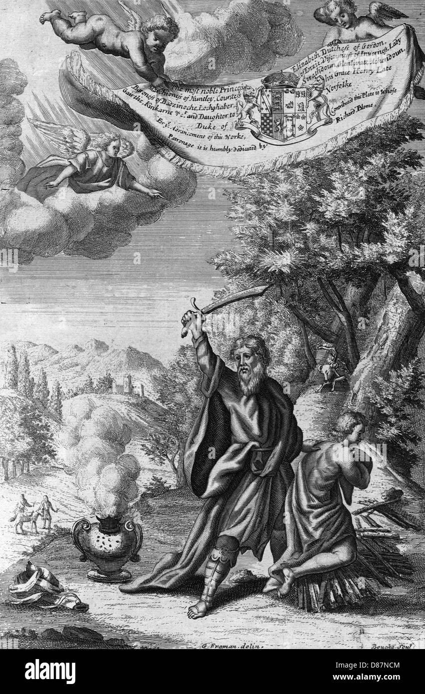 Abraham And Isaac - Stock Image