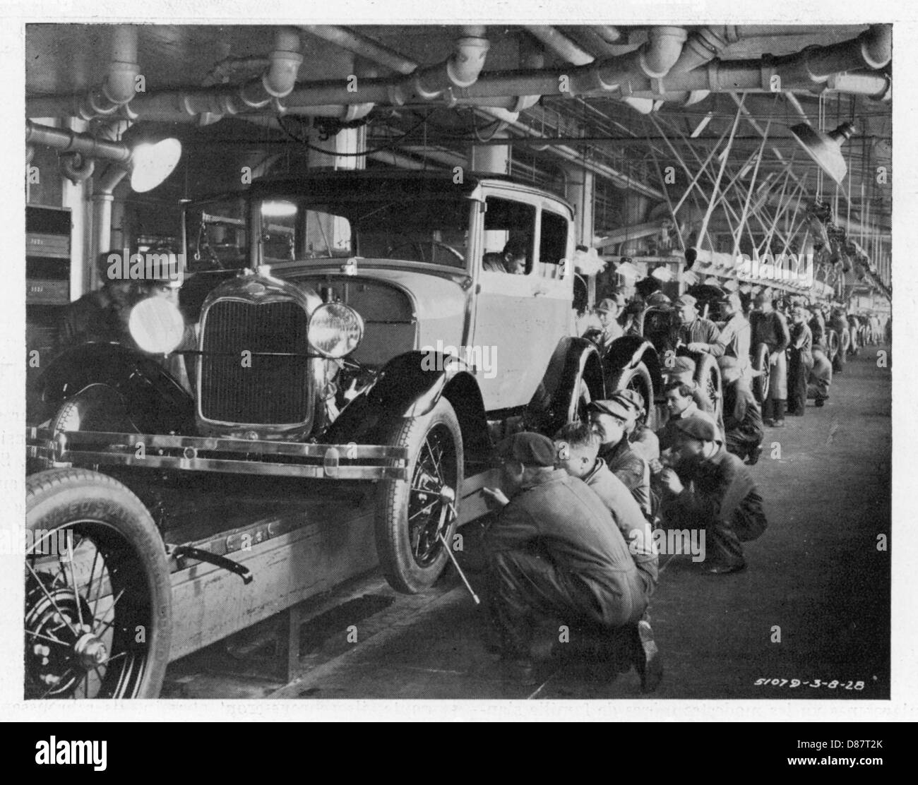 Ford Assembly Line 1930 Stock Photo 56720907 Alamy