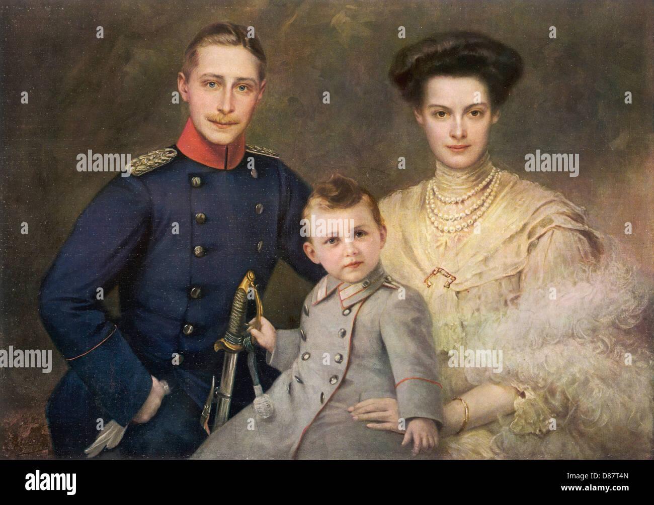 Kronprinz Wilhelm Liz 09 - Stock Image
