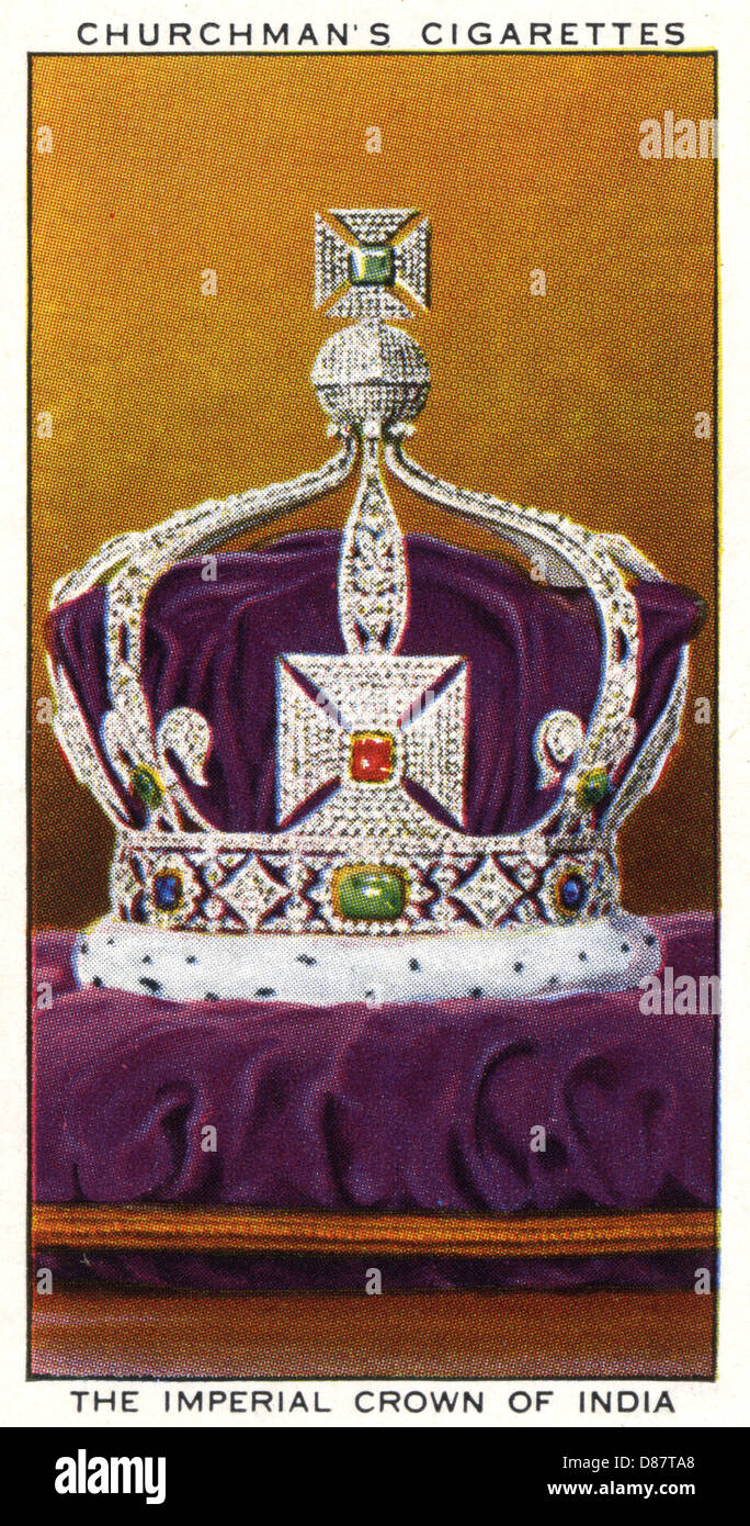 Crown Of India - Stock Image