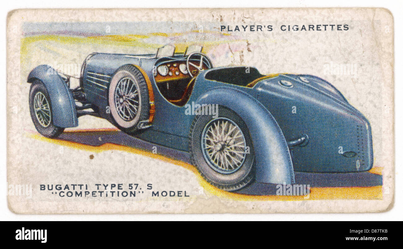Bugatti 57.s Model 1930s - Stock Image