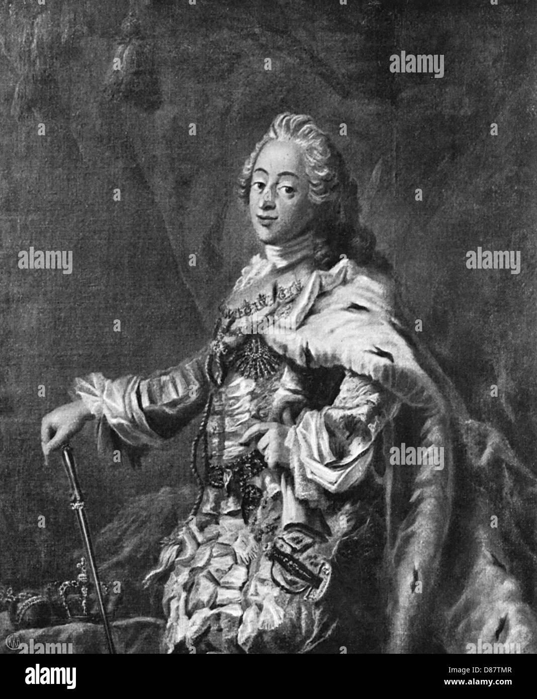 Frederick V Danish Royal - Stock Image