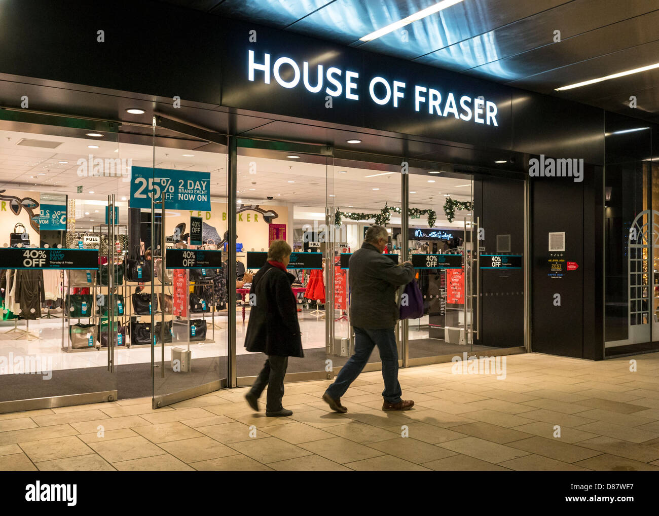 House of Fraser department store, England, UK - Stock Image