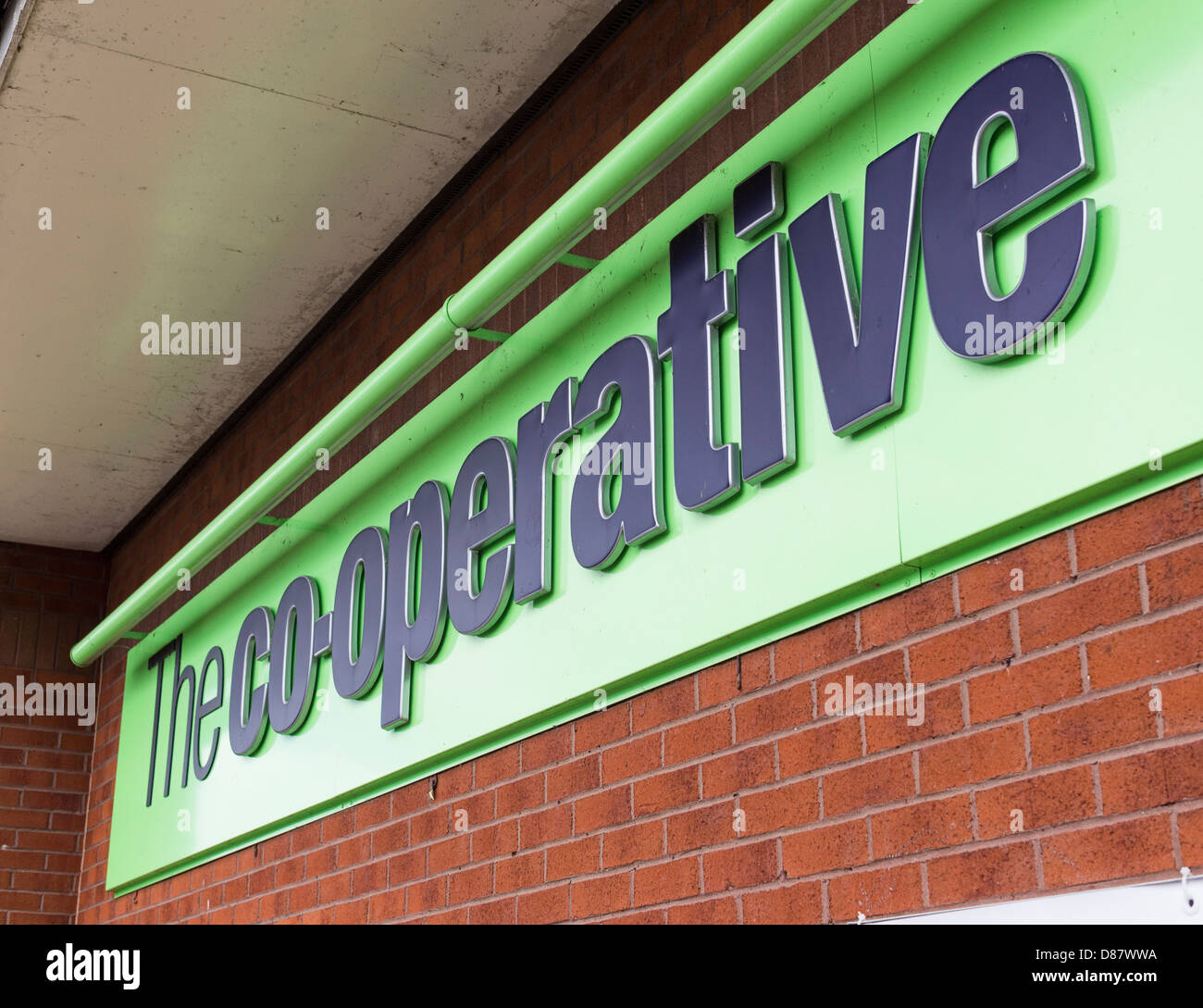 The Co-op supermarket chain logo, UK - Stock Image