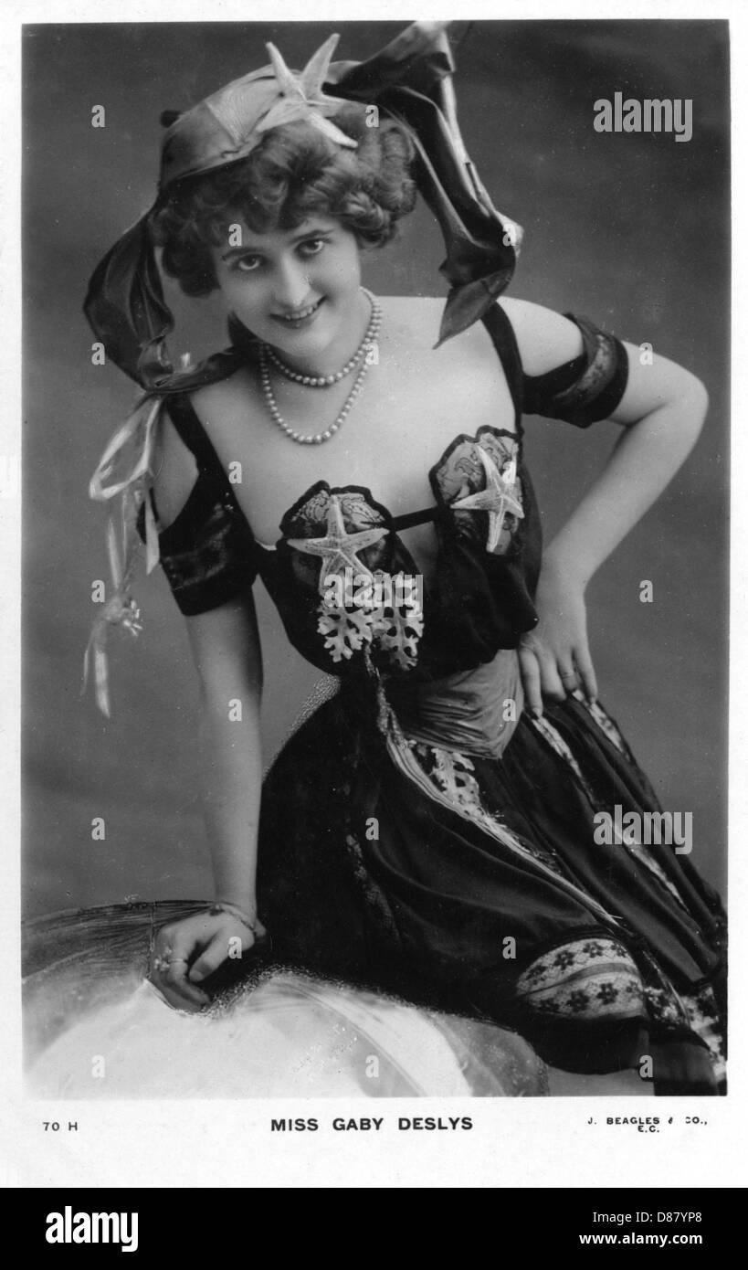 Gaby Deslys Beagles - Stock Image