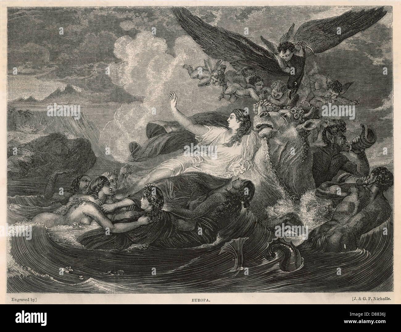 Europa Nicholls - Stock Image