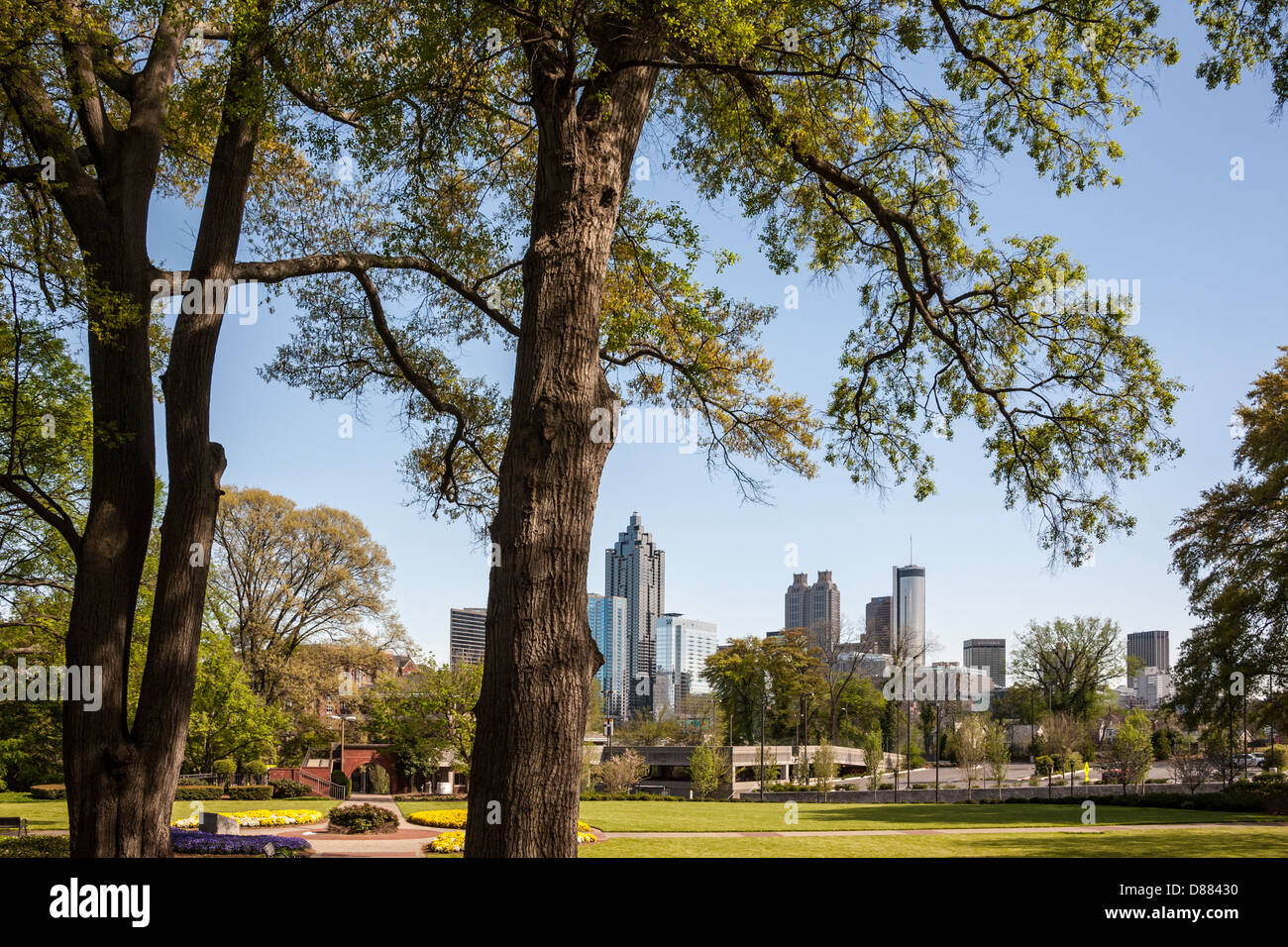 Atlanta, Georgia skyline. USA. - Stock Image