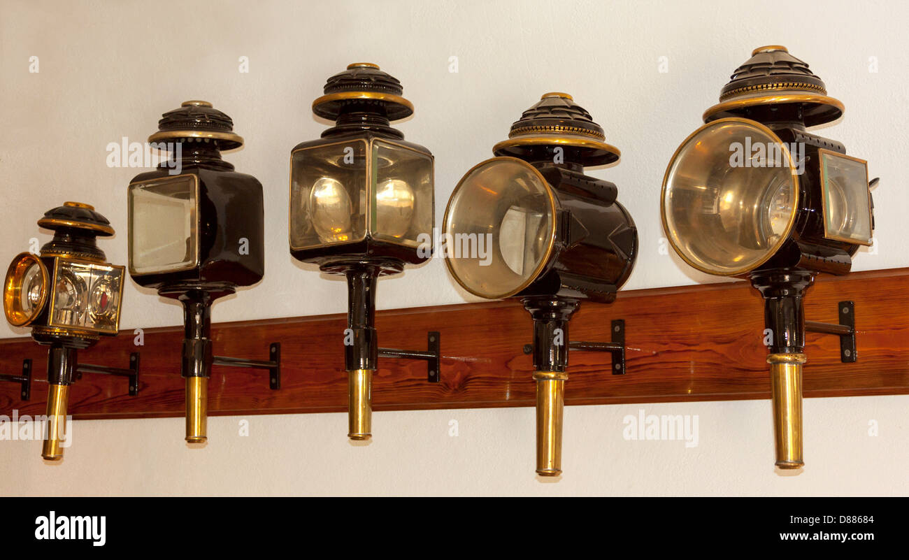 Antique Carriage Light High Resolution Stock Photography And Images Alamy