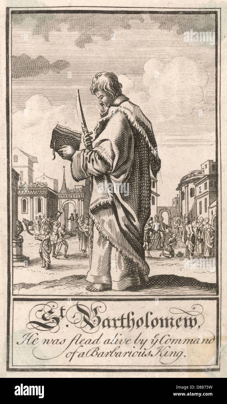 Saint Bartholomew Reading - Stock Image