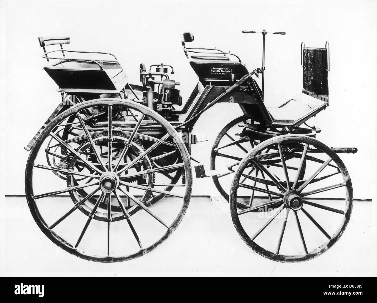 Daimlers First Model - Stock Image