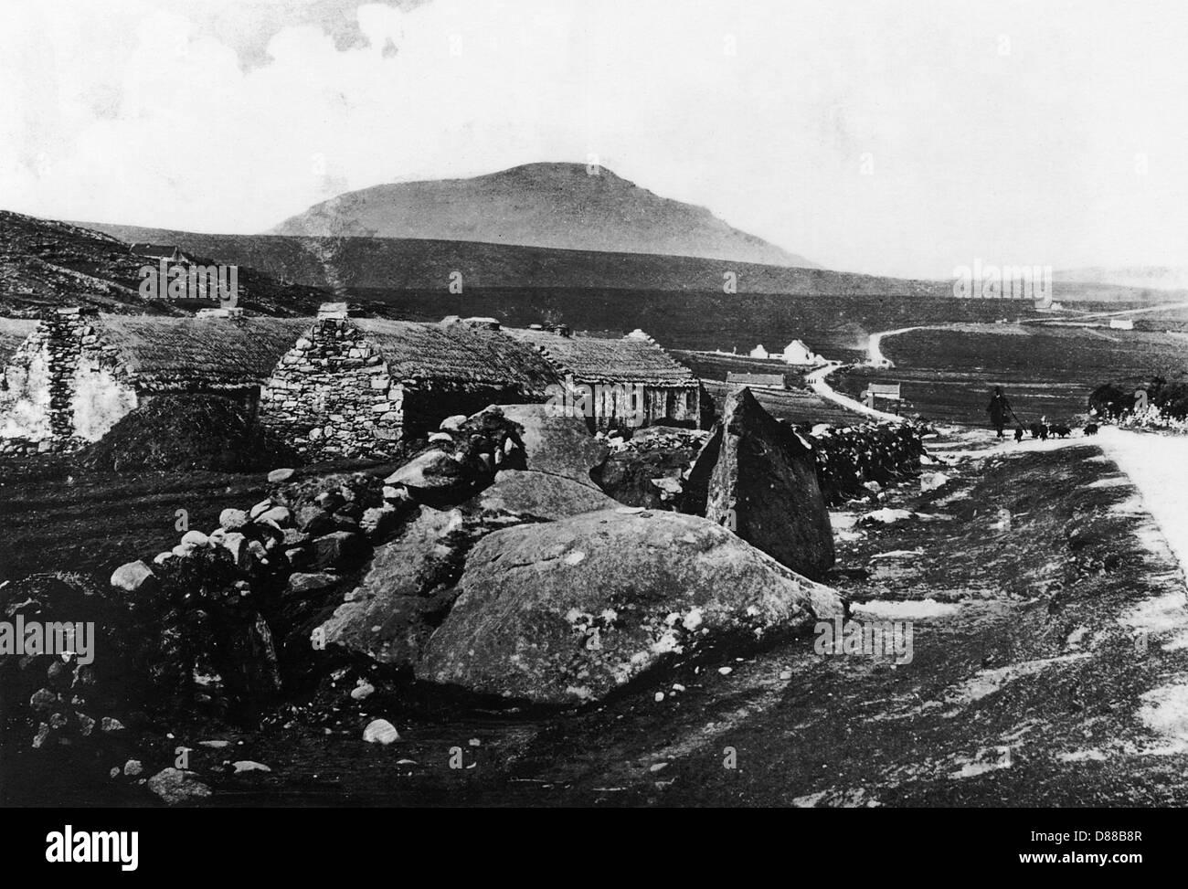 Achill Island Ireland - Stock Image