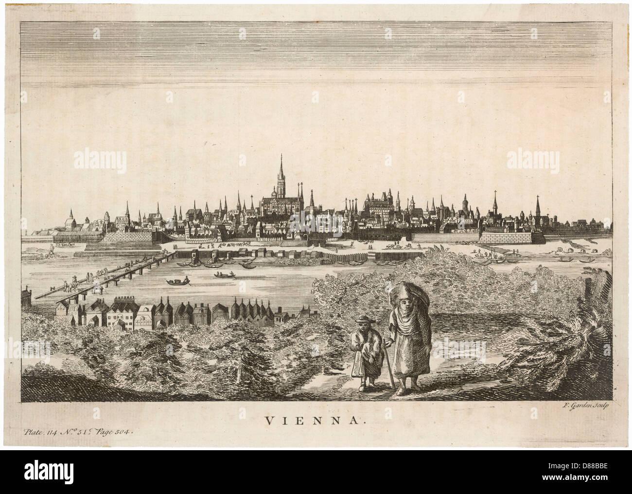 Vienna Salman 1750 - Stock Image