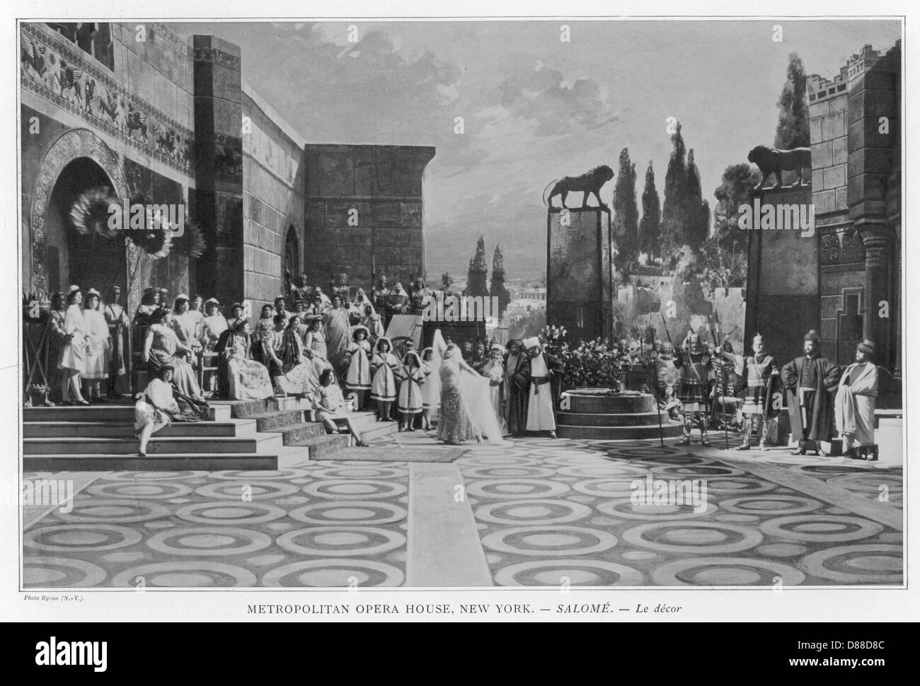 Strauss Salome At Ny Met - Stock Image