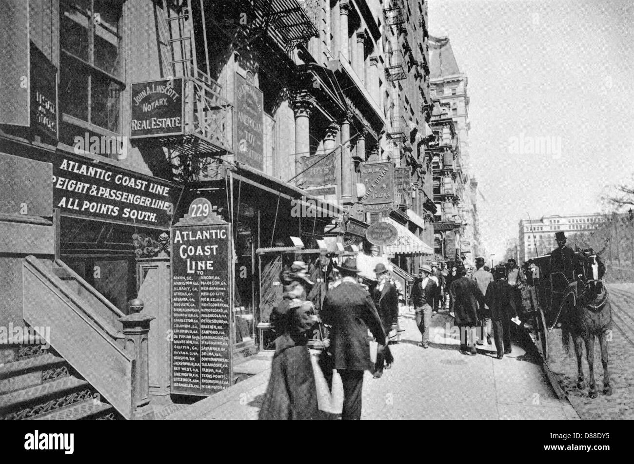New York Broadway 1895