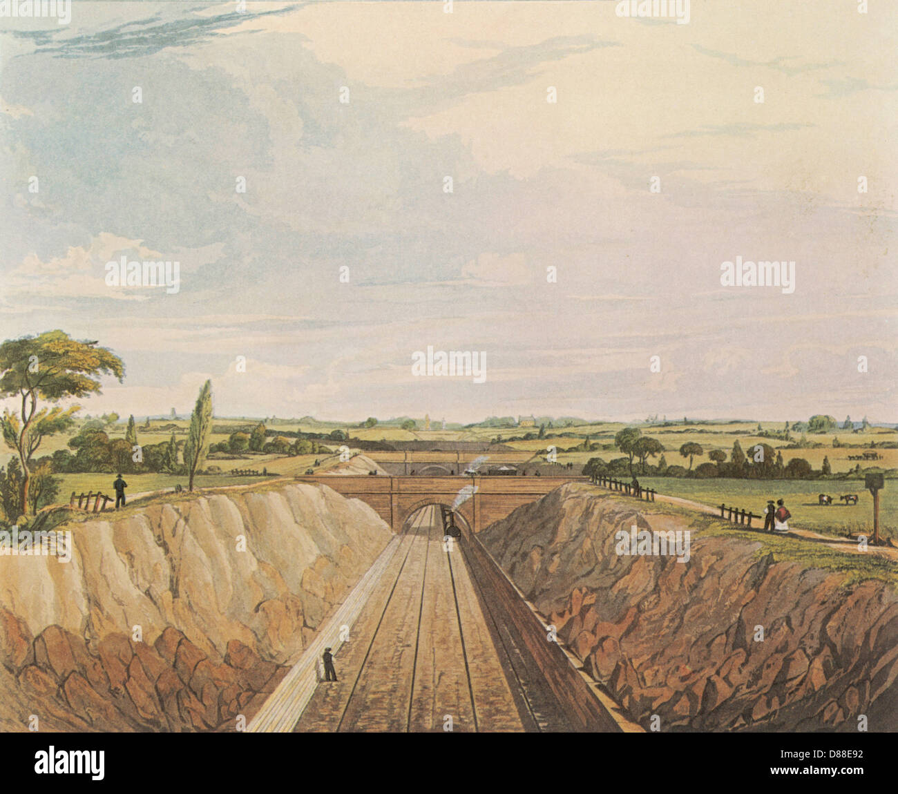 Rail Liverpool 1830 - Stock Image
