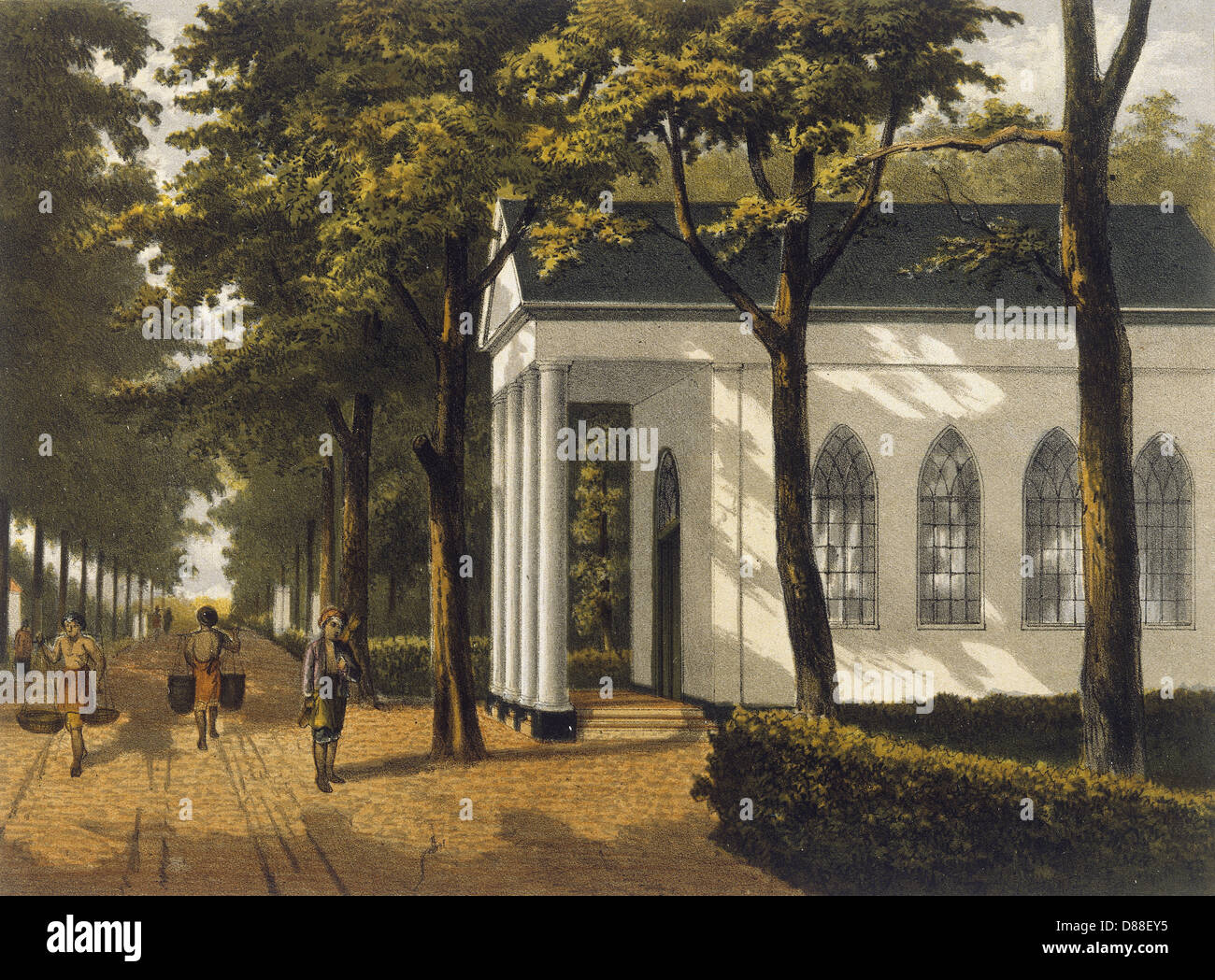 Java Djakarta 1882 - Stock Image