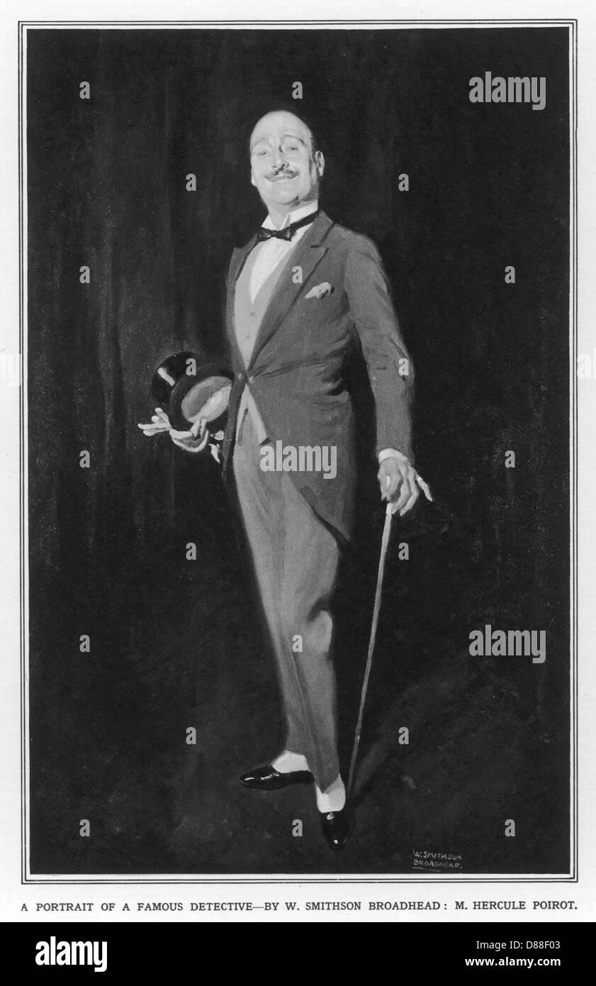 Hercule Poirot - Stock Image