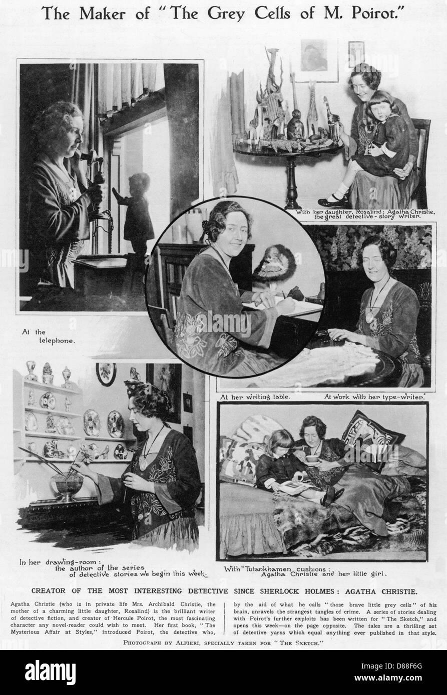 Agatha Christie  Scenes - Stock Image