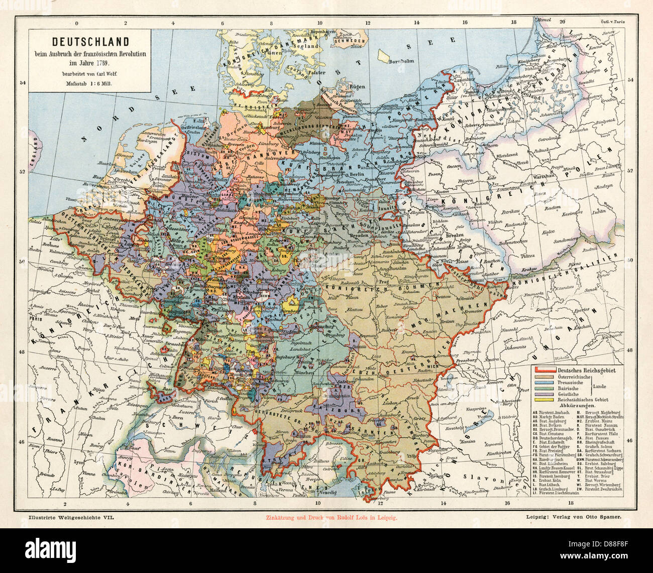 Map Of Germany With States.States Map Germany Stock Photos States Map Germany Stock Images