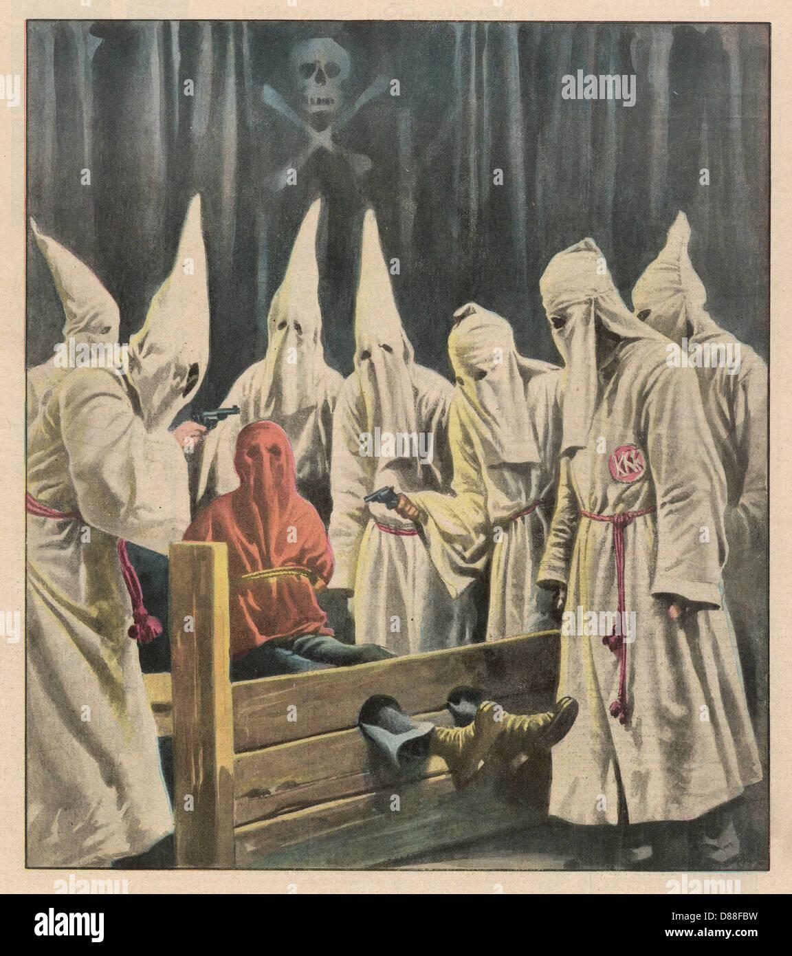 Ku Klux Klan Joke - Stock Image