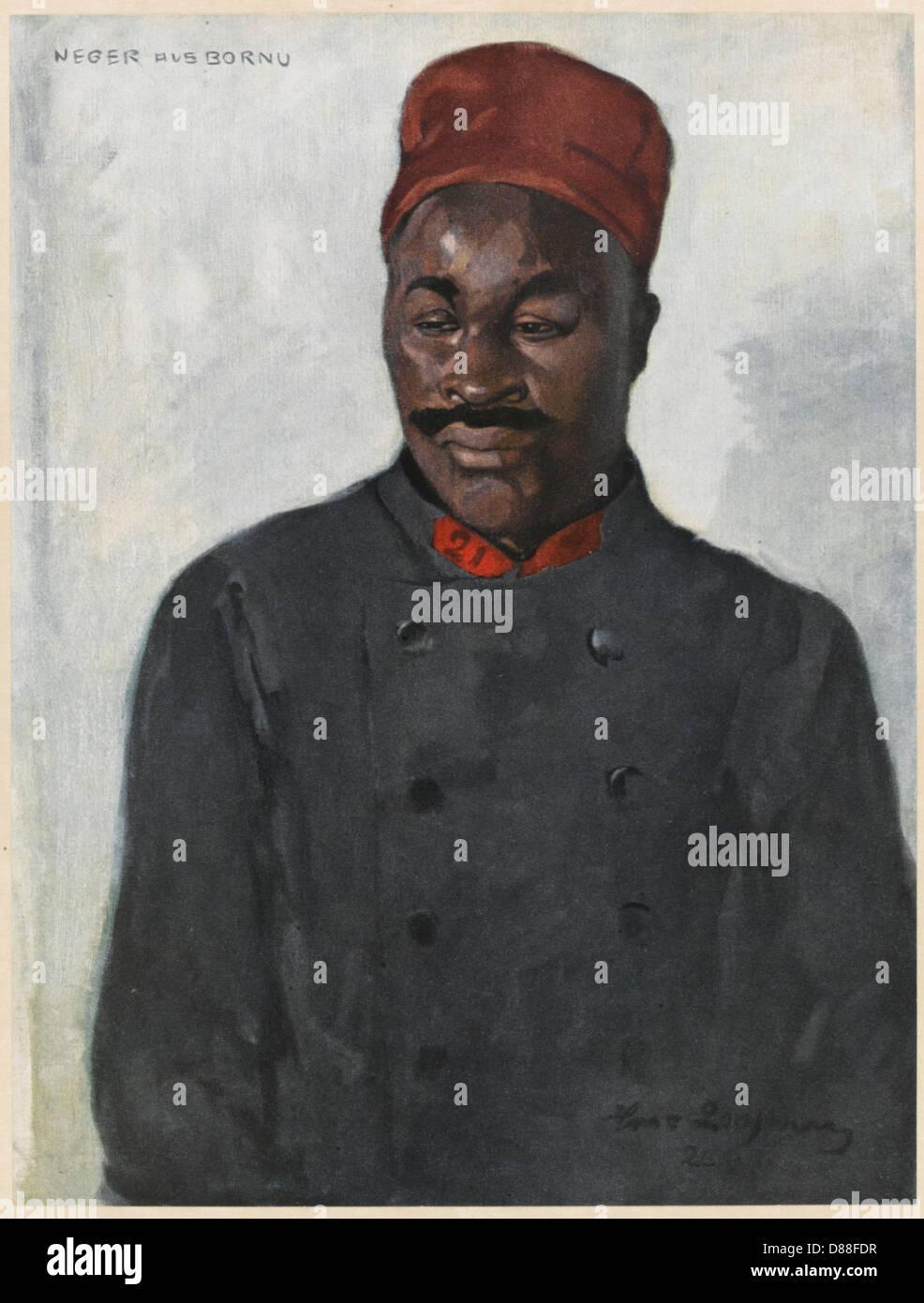 Ww1 Tchad - Stock Image