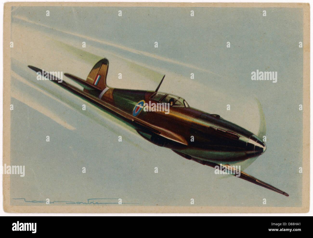 Spitfire Doutran - Stock Image