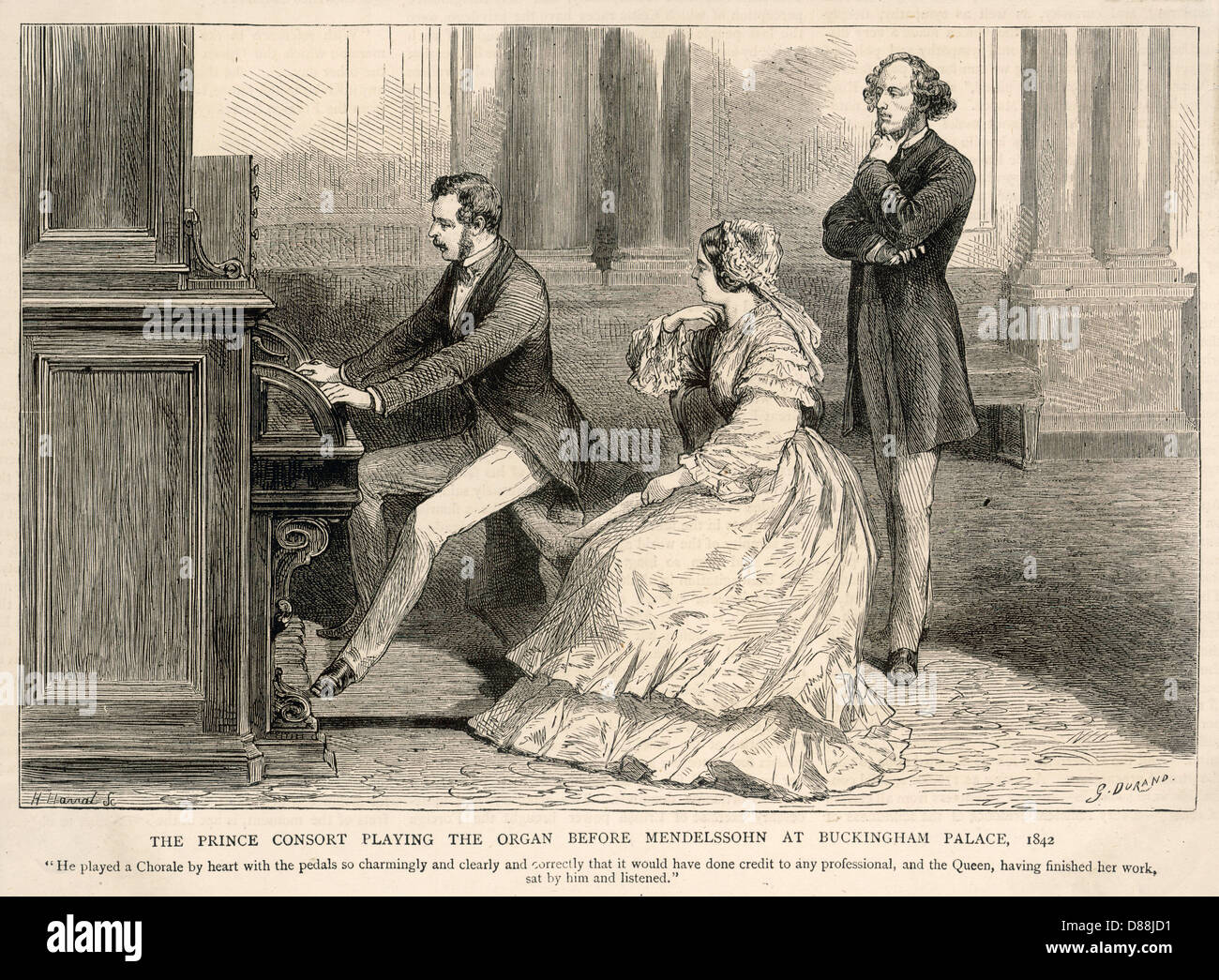 Mendelssohn Royalty - Stock Image