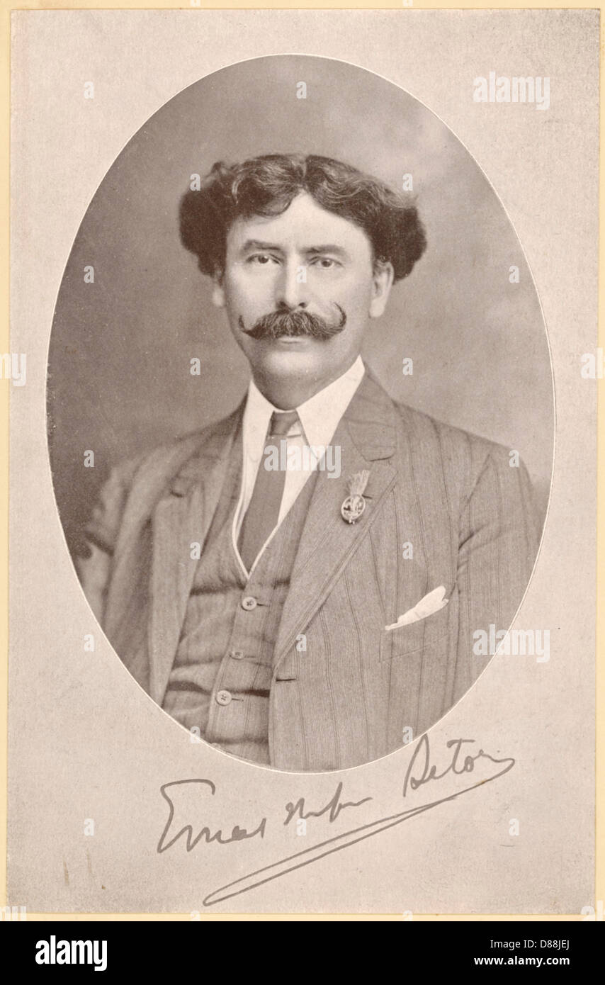 Ernest Thompson Seton - Stock Image