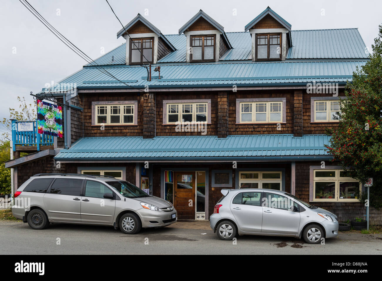 Core Inn, Youth Project Society, Salt Spring Island, British Columbia, Canada - Stock Image