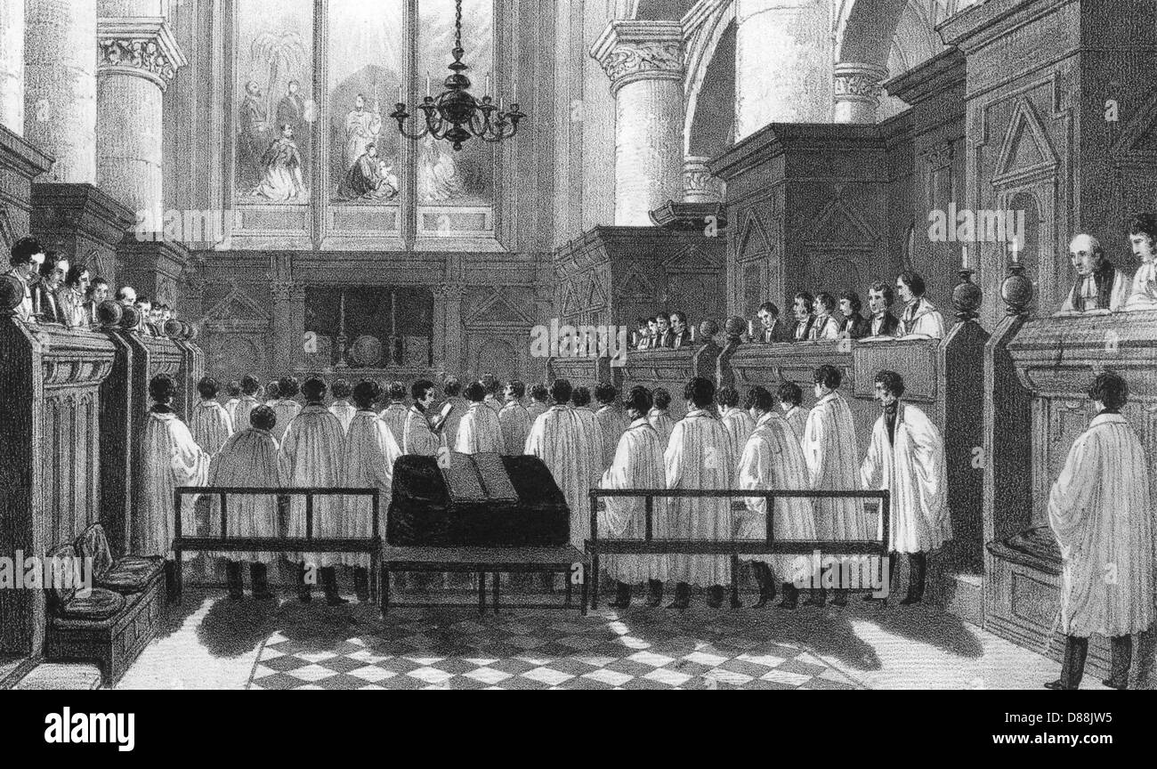 Oxford Christ Church - Stock Image