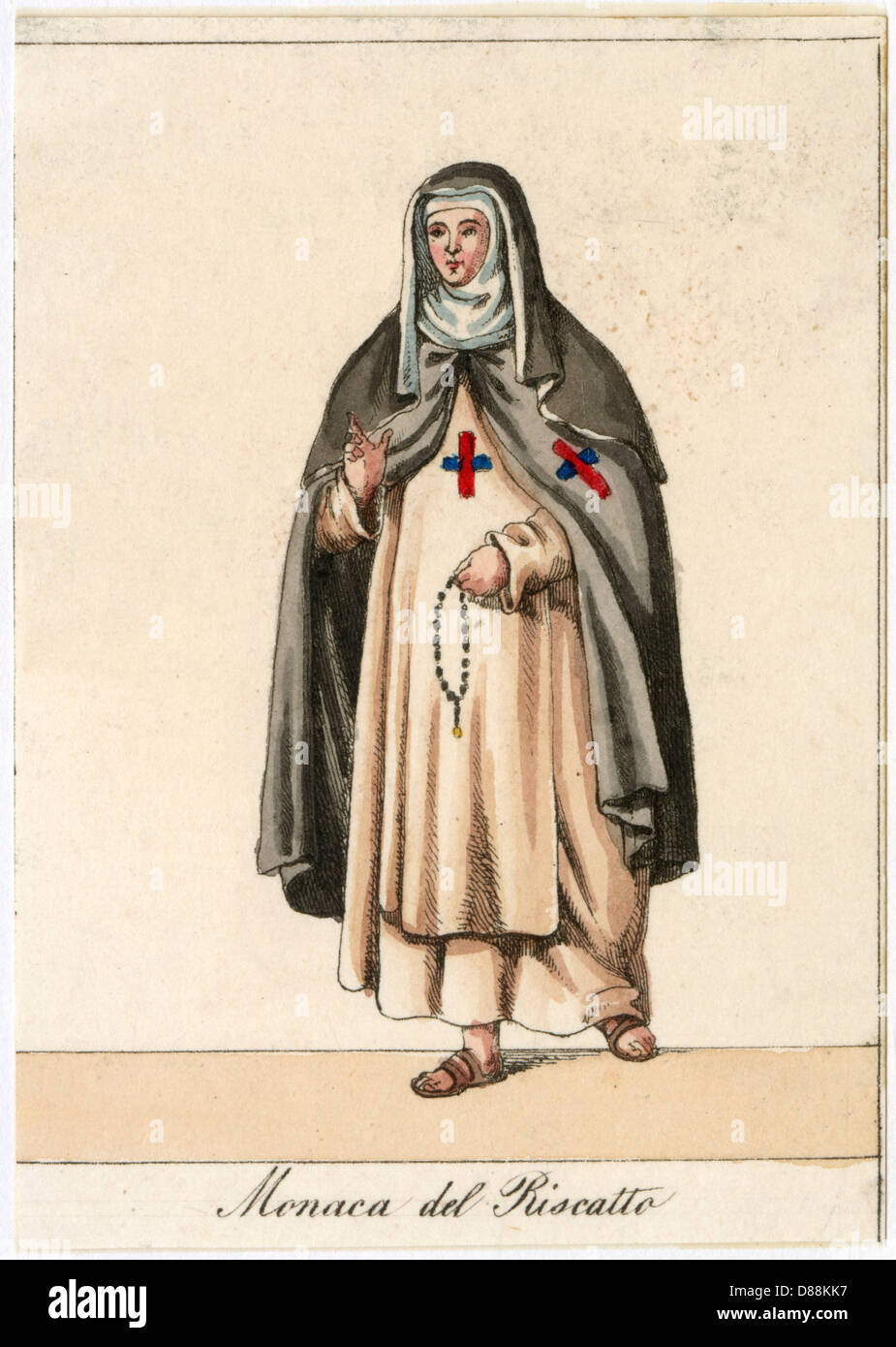 Nun Of The Redemption - Stock Image
