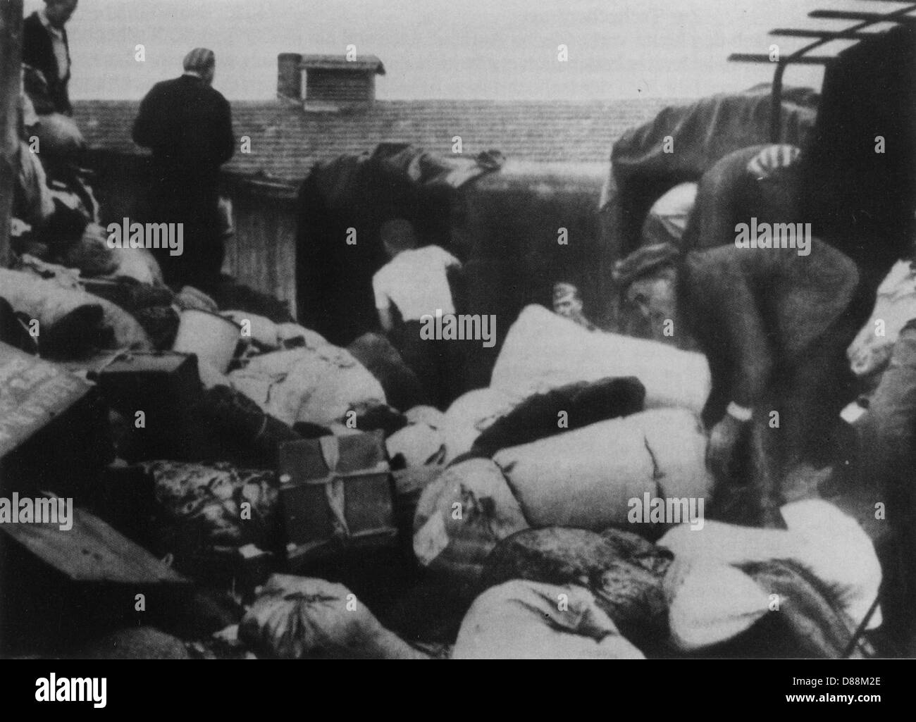 Auschwitz Forced Labour - Stock Image