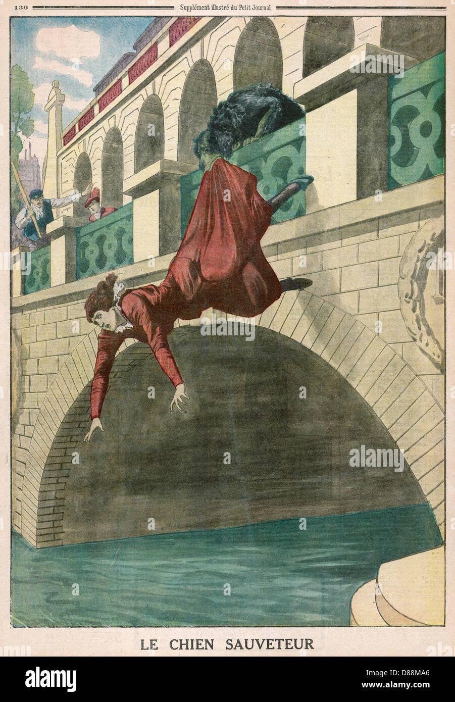 Death Suicide Paris - Stock Image