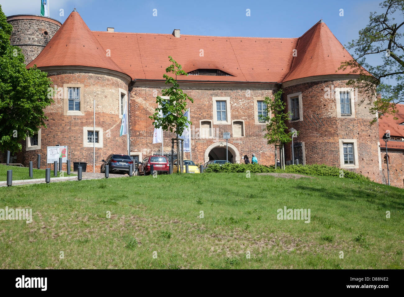 burg eisenhardt bad belzig hoher fl ming brandenburg germany stock photo 56740826 alamy. Black Bedroom Furniture Sets. Home Design Ideas