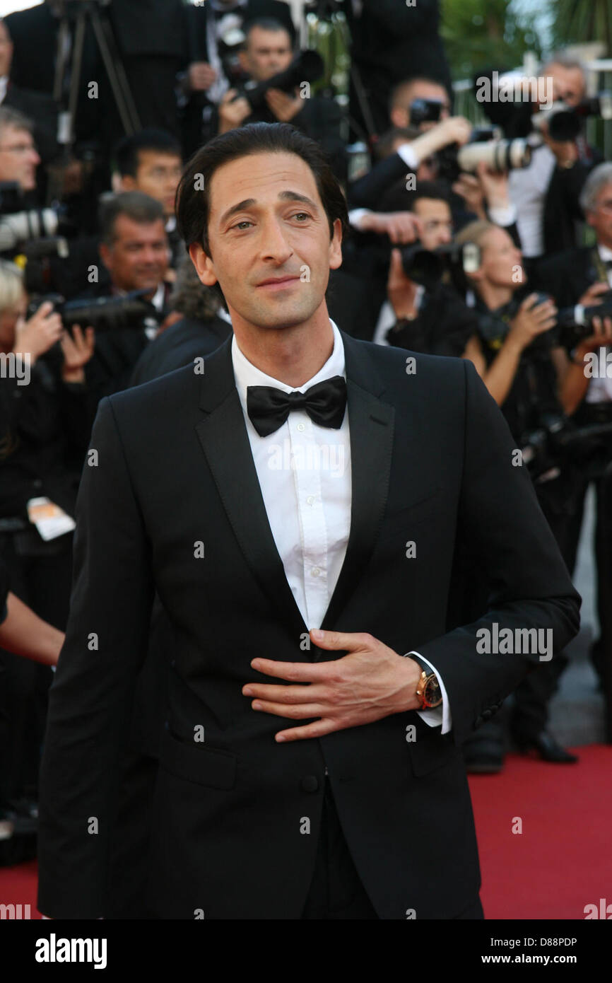 Cannes, France. 21st May 2013. Adrien Brody attends the Behind the Candelabra Premiere - The 66th Annual Cannes - Stock Image
