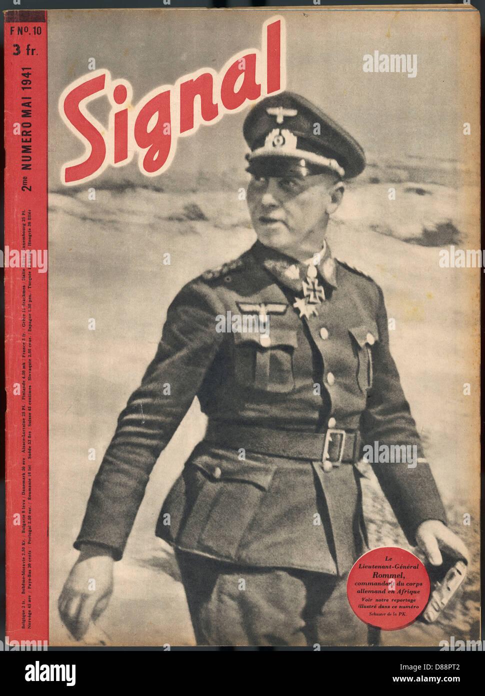 Rommel In Command - Stock Image