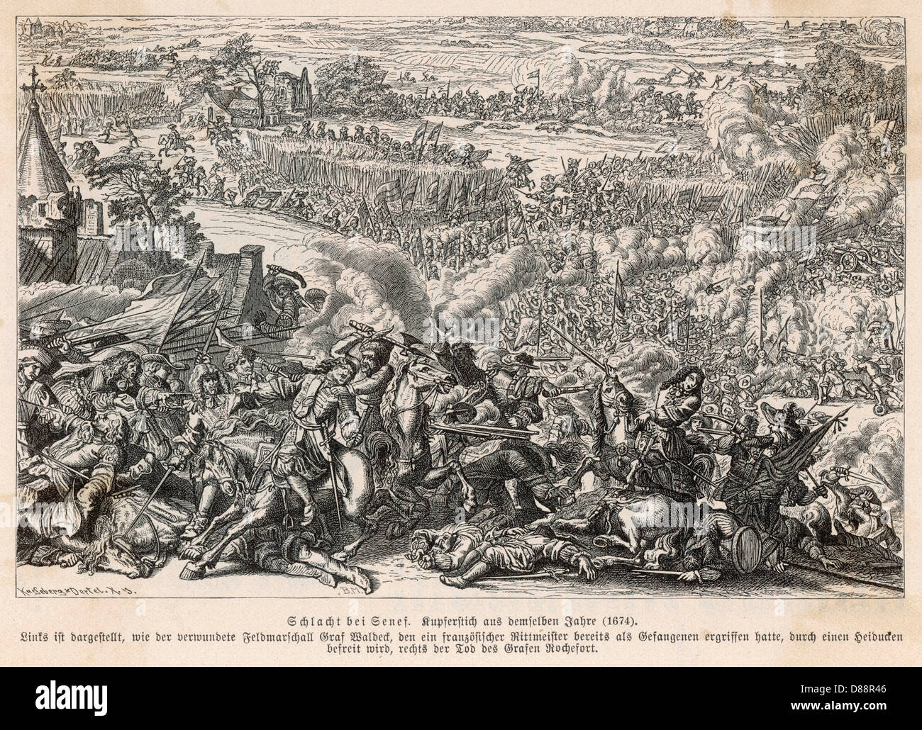 Battle Of Seneffe 1674